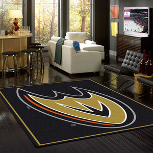 Anaheim Ducks NHL Team Spirit Rug  NHL Area Rug - Fan Rugs