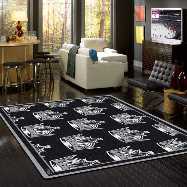 ... Los Angeles Kings NHL Team Repeat Rug Area Rug - Fan Rugs ...