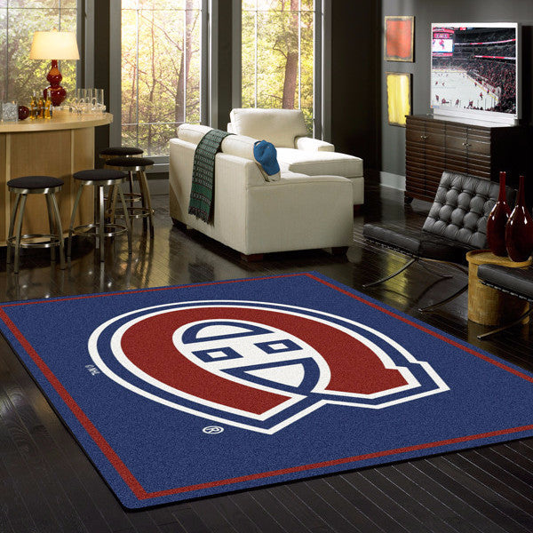 Montreal Canadiens Nhl Team Spirit Rug Fan Rugs