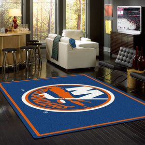 New York Islanders NHL Team Spirit Rug  NHL Area Rug - Fan Rugs