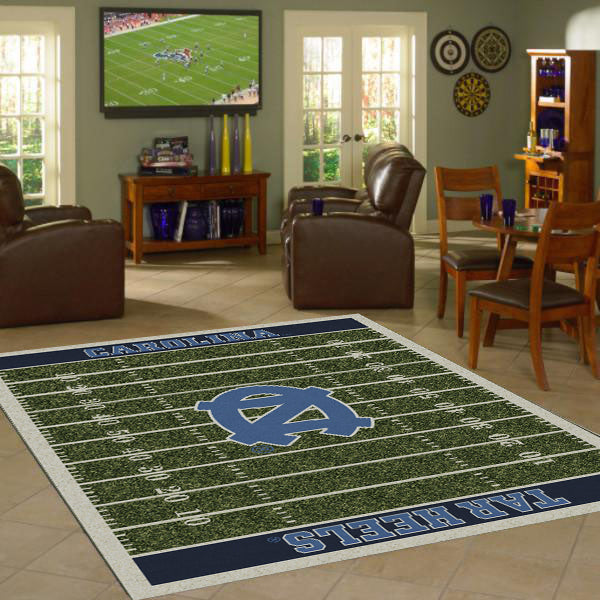 UNC - University of North Carolina Home Field Rug  College Area Rug - Fan Rugs