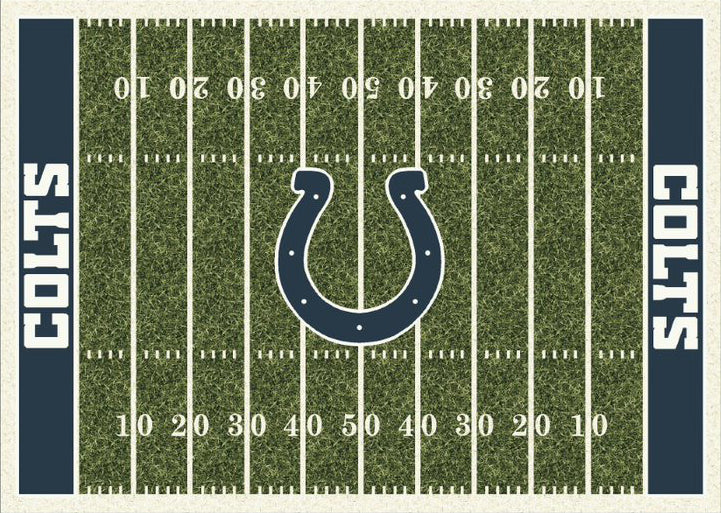 Indianapolis Colts NFL Football Field Rug  NFL Area Rug - Fan Rugs