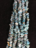 Beautiful 10 Strand Necklace w/ Turquoise Stones from Arizona and Nevada