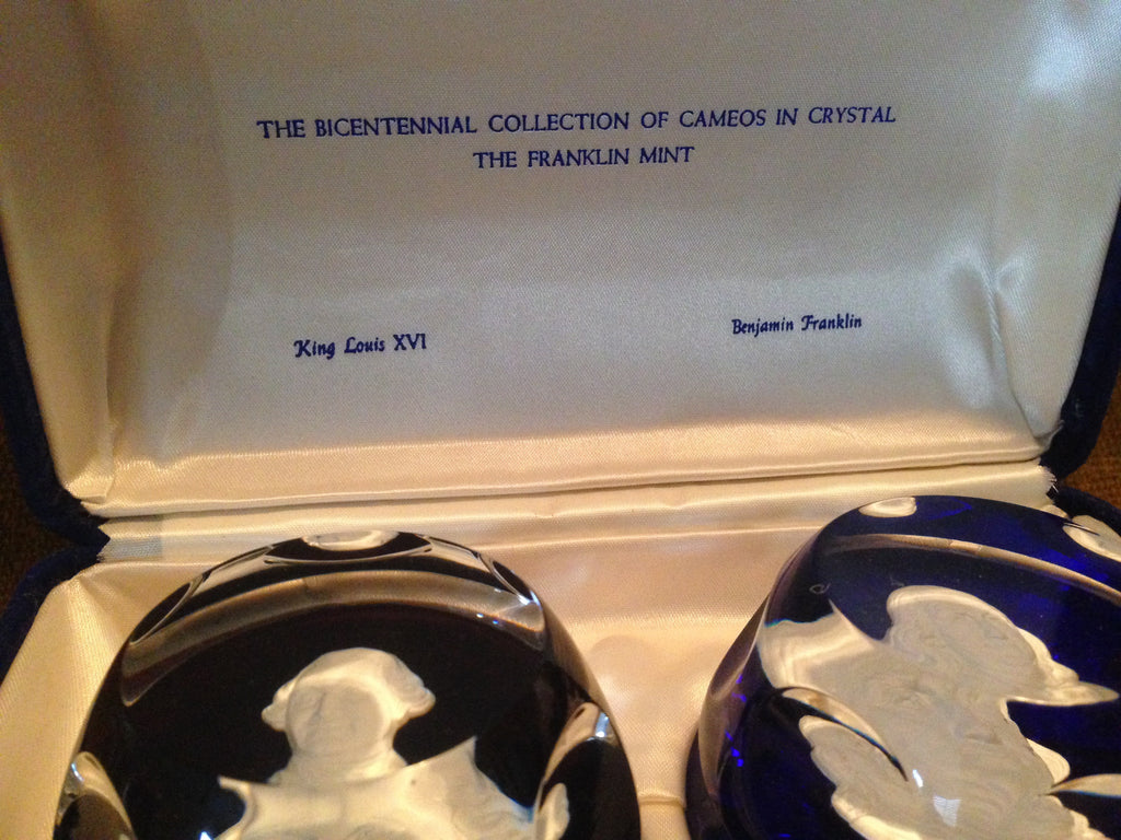 Bicentennial Paperweights made by Baccarat