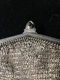 Vintage Whiting & Davis Mesh Purse with Jeweled Clasp