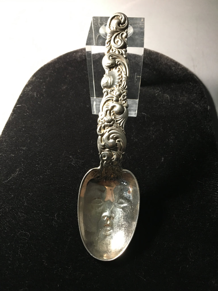 Vintage Sterling Silver Baby Spoon Made by Whiting