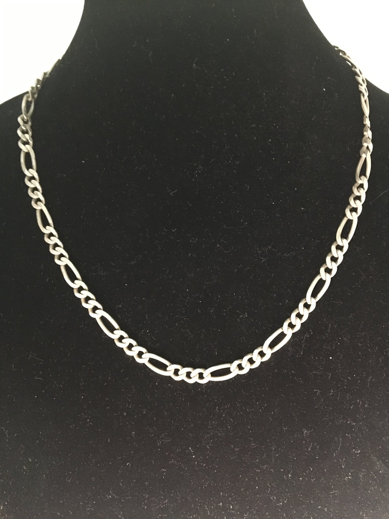 Sterling Silver Link Necklace from Italy