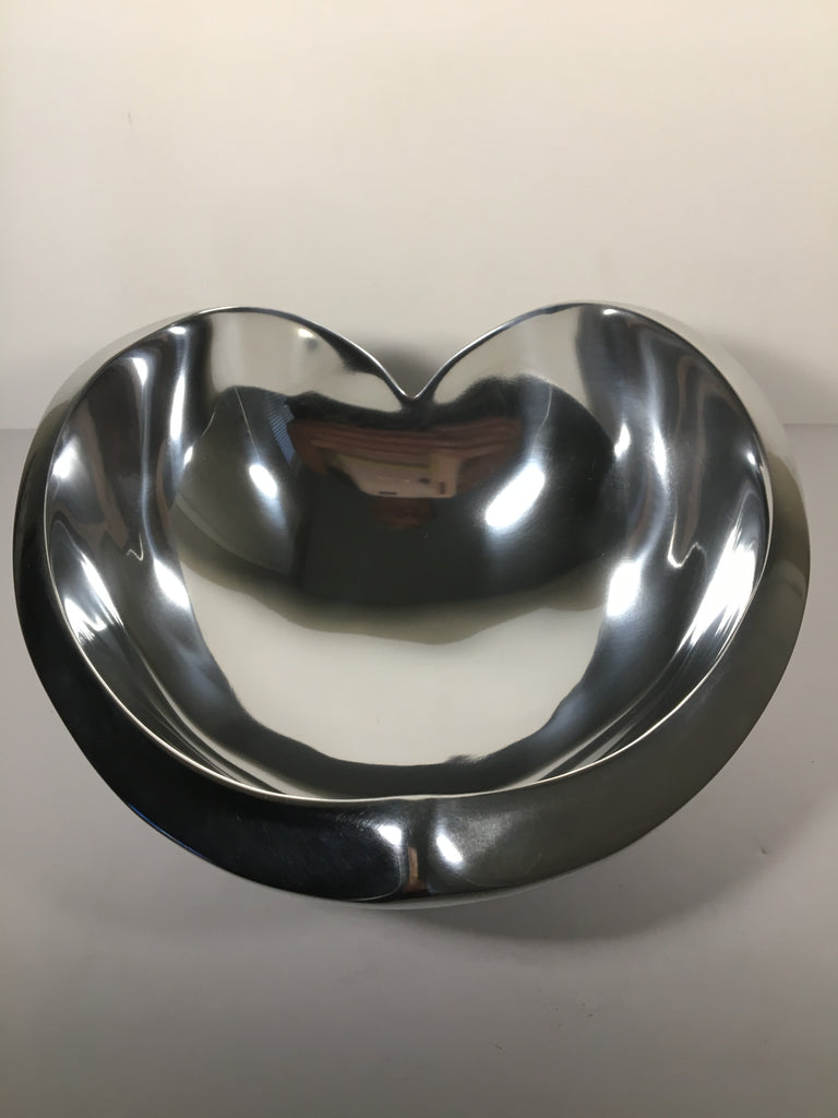 Vintage  Nambe' Love Bowl
