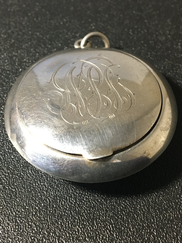 Vintage Unger Brothers Sterling Silver Compact