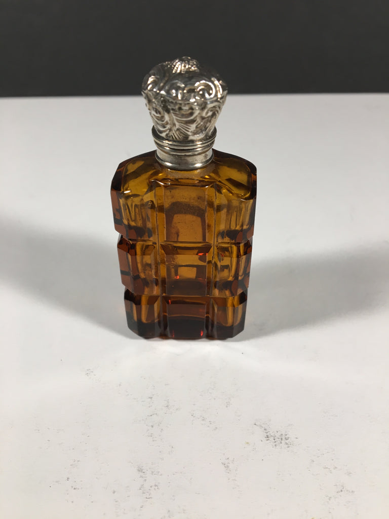 Amber Glass Scent Decanter