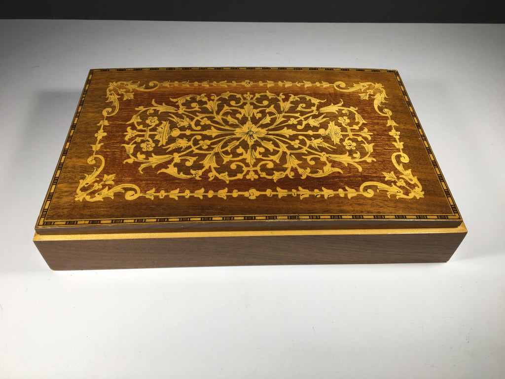 Decorative Wooden Inlay Box