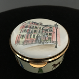 Staffordshire Enamel Box - St James Club