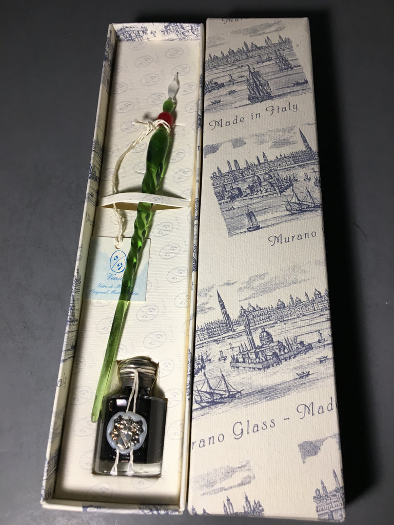 Murano Glass Dipping Pen from Italy