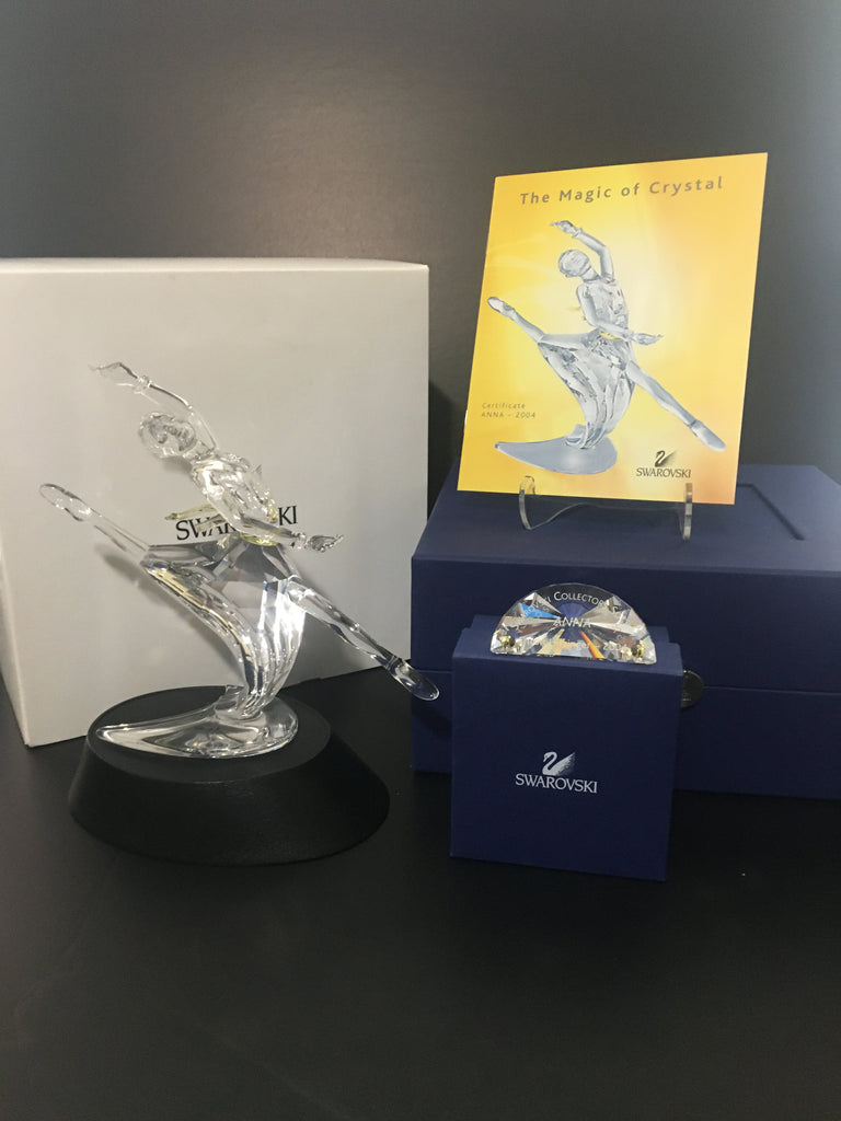 "Swarovski Crystal Figurine ""Anna"" Magic of Dance Series SCS Annual Edition 2004"