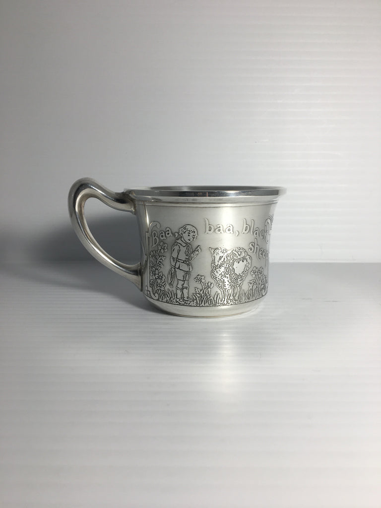 Antique Lebkuecher & Co  Sterling Silver Child's Cup c. 1896- 1906