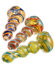 Multi-Color Spiral Hand Pipe