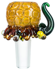 Beehive Glass Bowl
