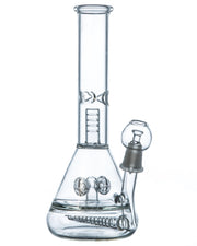 Inline Perc to Cross Perc Water Pipe