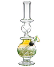 Fumed Glass Water Pipe