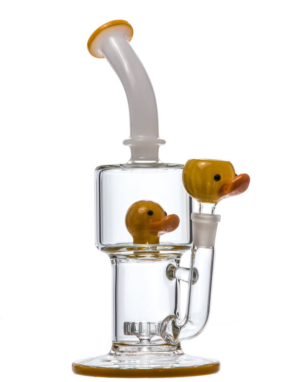 Circ Perc to Rubber Duck Water Pipe