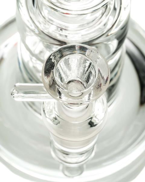 Clear Glass Incycler w/ Large Circ Perc