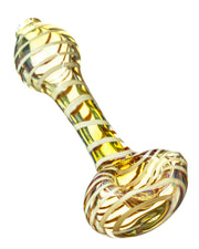 Full Spiral Fumed Mini Spoon Pipe