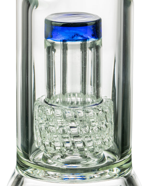 "Diamond Glass 14"" UFO Perc Beaker UFO Perc"
