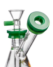 Diamond Glass Gavel Hammer Bubbler Mouth Piece