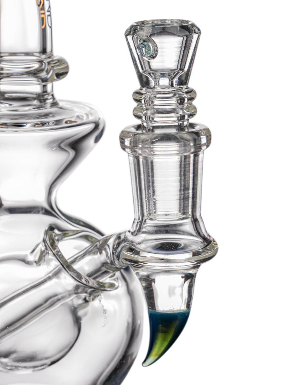 "Diamond Glass ""Rigception"" Showerhead Perc Incycler Bowl Closeup"