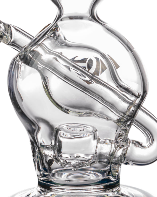 "Diamond Glass ""Rigception"" Showerhead Perc Incycler Perc Detail"