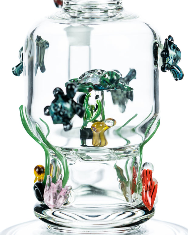 Worked Glass Turtle