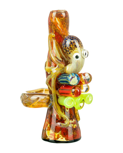 Octopus Chillum w/ Pendant Loop