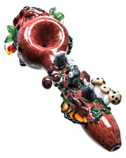 Owl Tree Spoon Pipe
