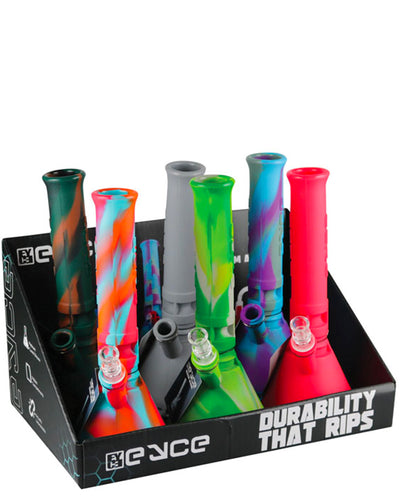 Eyce Mini Silicone Beaker - 6 Pack POP Front View