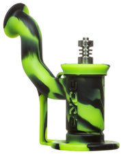 green and black dab rig