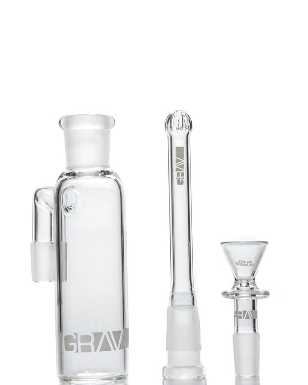90˚ Ashcatcher with Removable Downstem 18mm