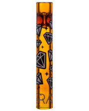 12mm Chillum by Grav with Diamond Graphic