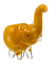 Mini Glass Elephant Hand Pipe
