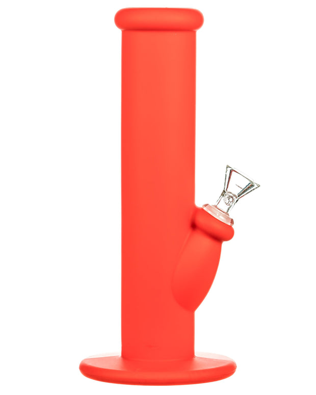 Straight Tube Silicone Bong
