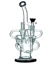 Black Accented Half Fab Egg Triple Recycler