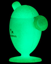 Glow in the Dark Silicone Cone Bubbler