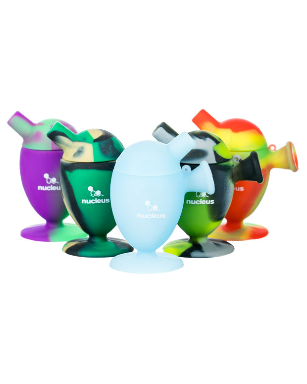 Color Choices for Silicone Cone Bubbler
