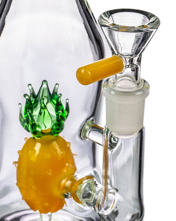 """Ananaas"" Pineapple Bottle Dab Rig"