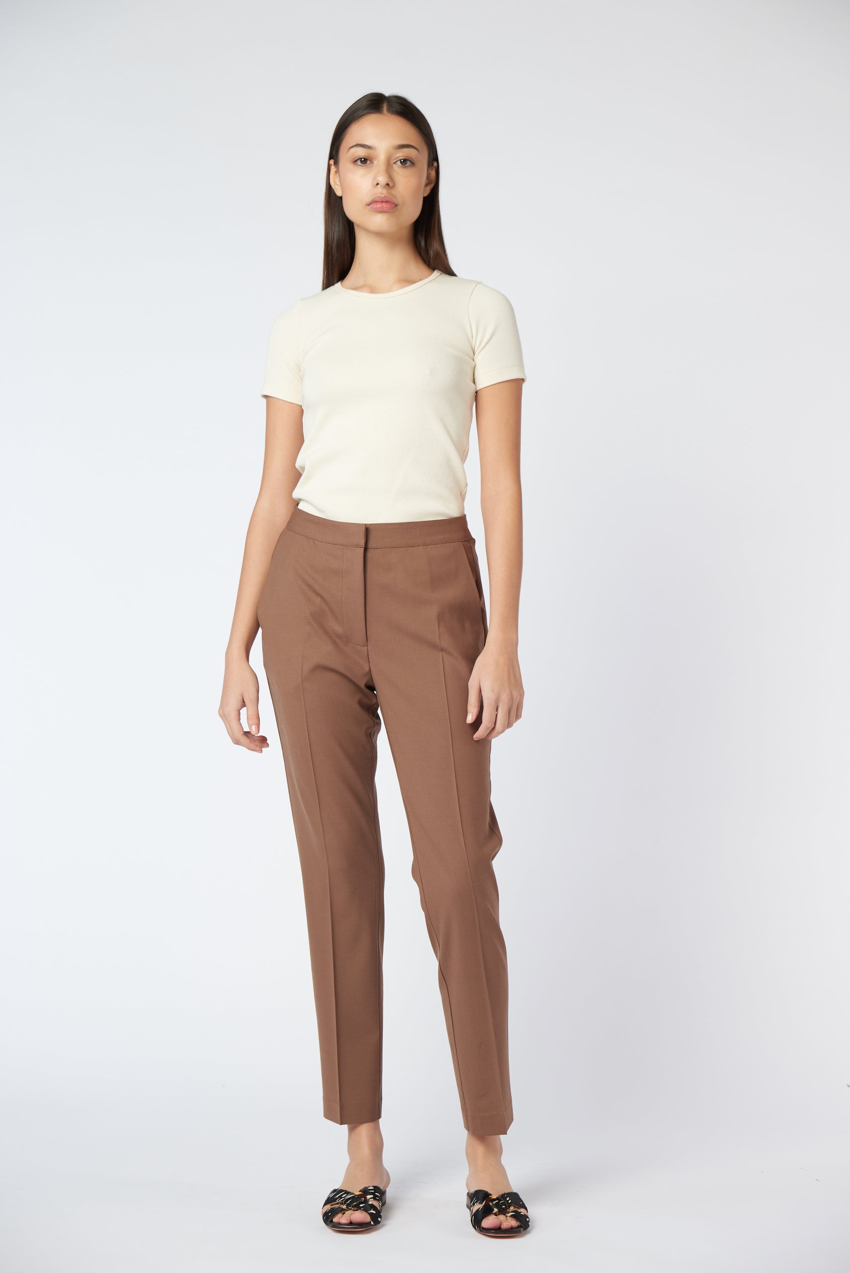 Slim Trouser - Cocoa