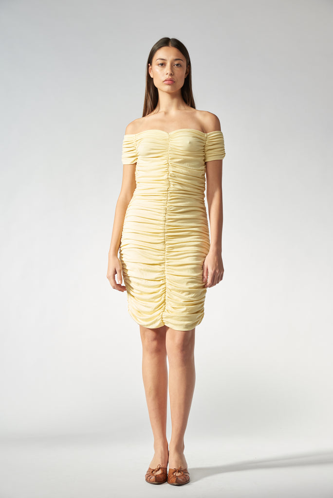 Molly Dress - Butter