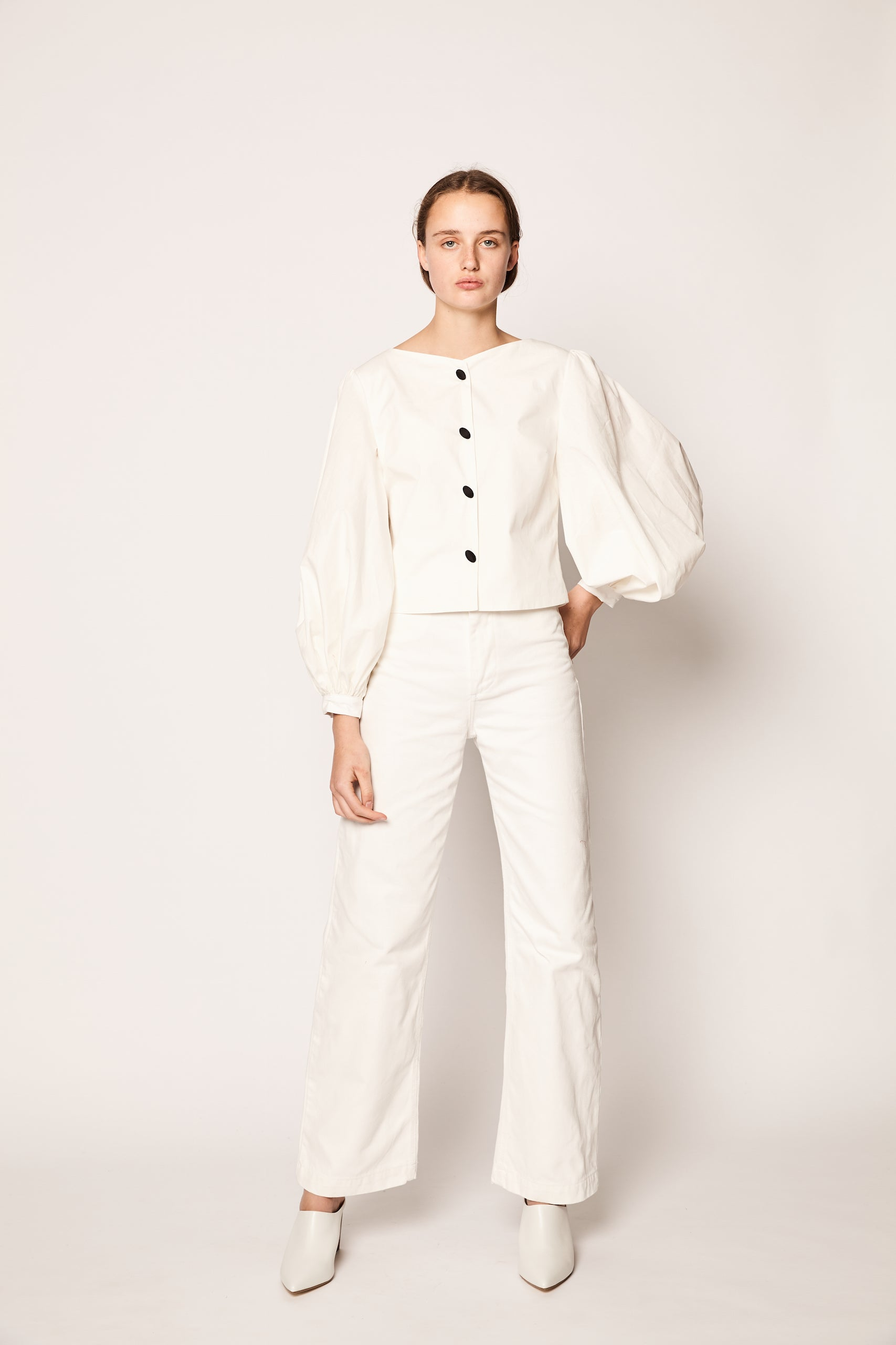 Blanca Blouse - White