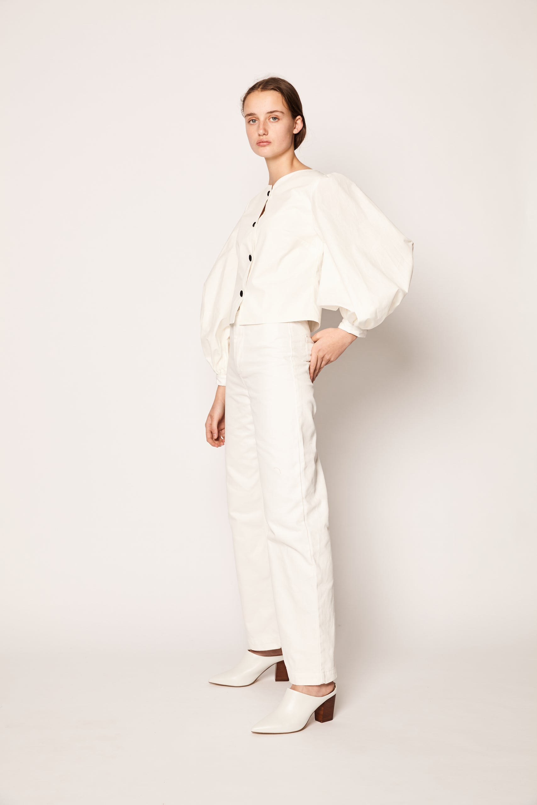 Blanca Blouse White