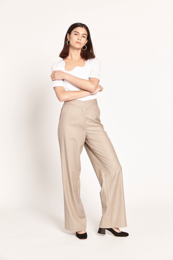 Suit Trouser - Cashmere Wool