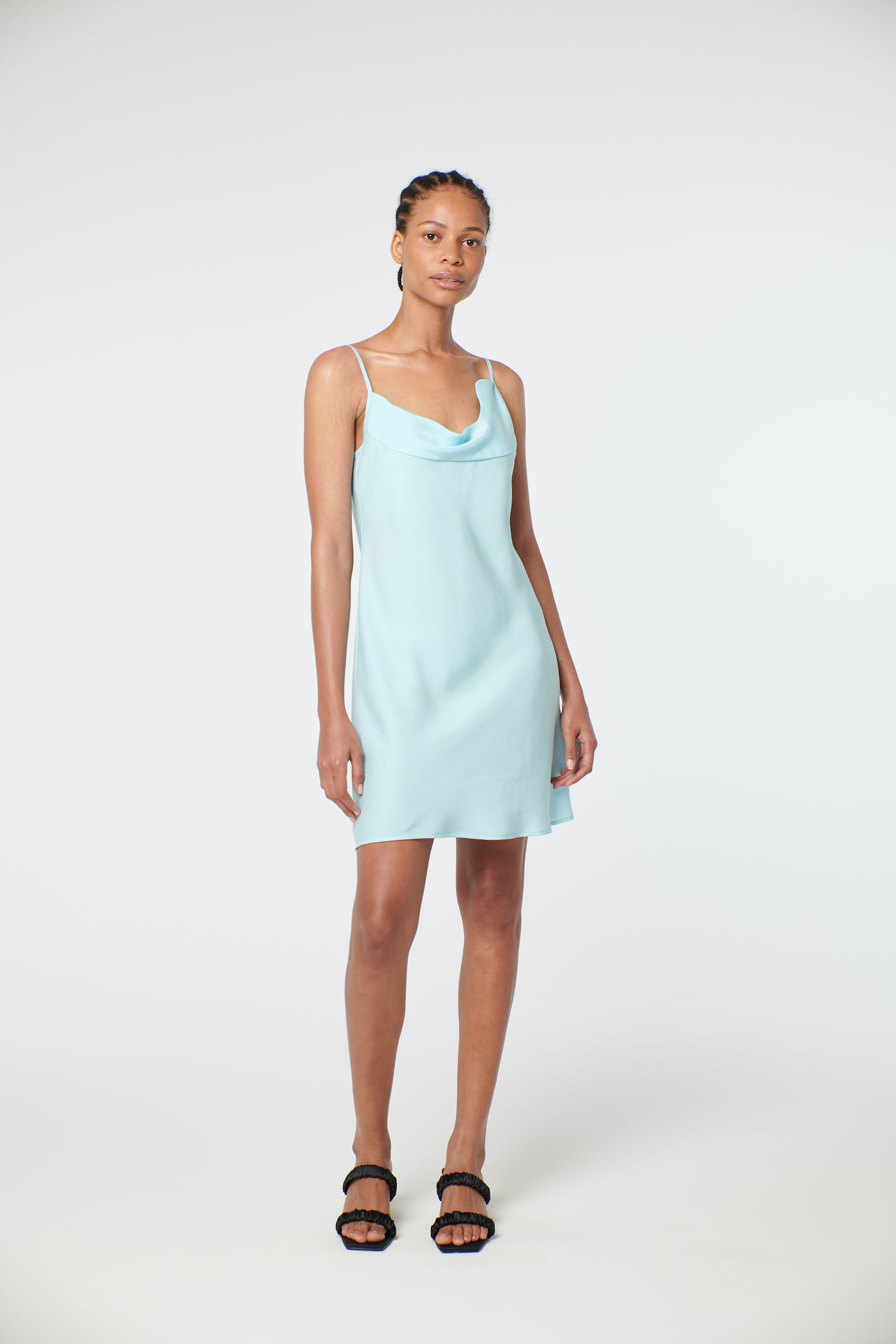 Siena Dress - Seafoam
