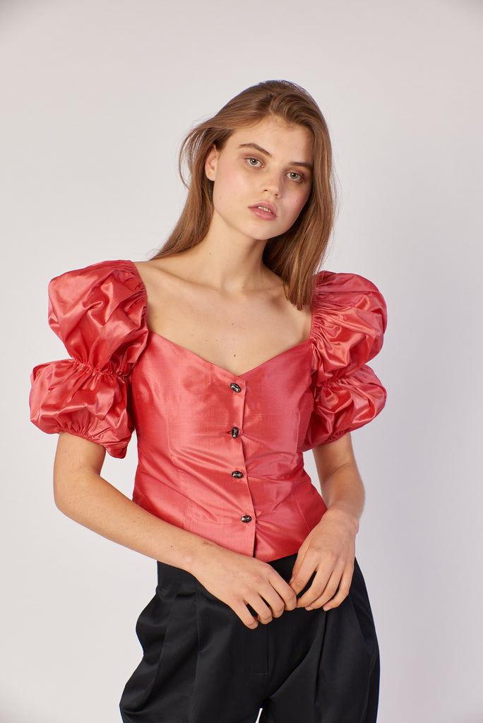 Greta Top- Rose